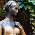 Statue of Juliet Capulet in Her House Backyard in Verona, Veneto