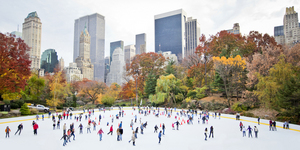 Skating in New York