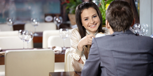 Romantic meeting