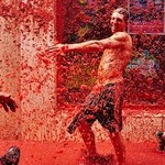 The World's Biggest Tomato Fight At Tomatina Festival
