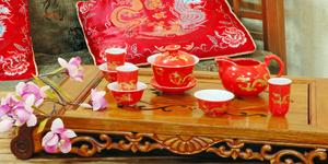 Изящное китайское чаепитие