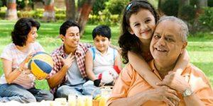Крепкая индийская семья
