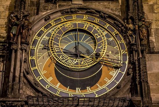 Астрономические часы в Праге