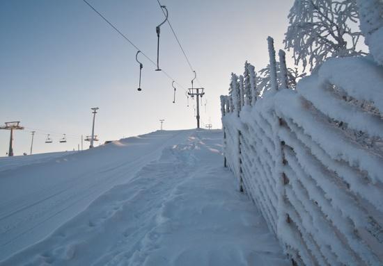 Подъемники горнолыжного курорта Леви