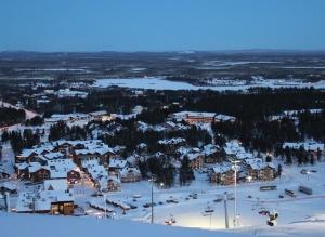 Горнолыжный курорт Леви в Финляндии
