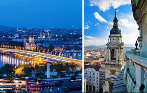 Будапешт-Вена тур в течение 4 дней