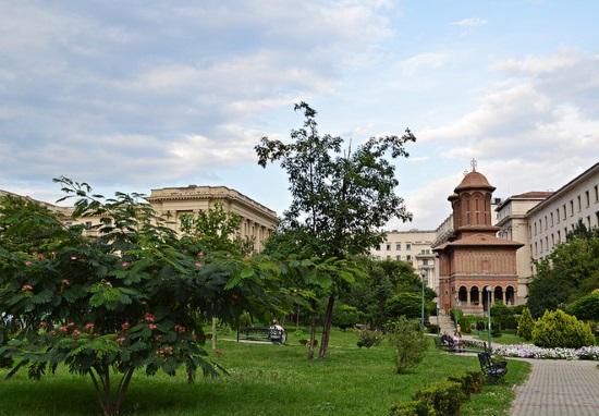 Осень в Бухаресте