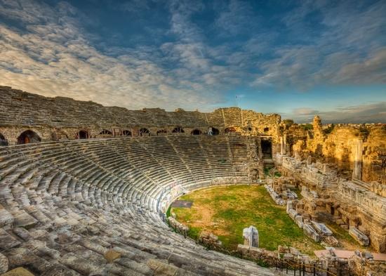 Сиде, древний город в Турции