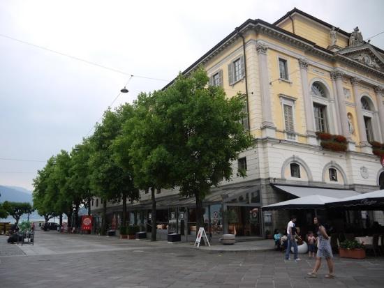 Лугано, улицы города