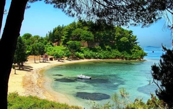 Пляжи острова Корфу