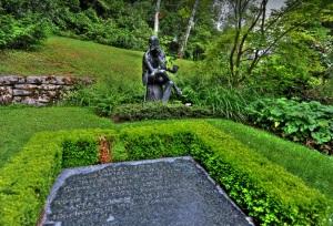 Памятник Джеймса Джонса в Цюрихе
