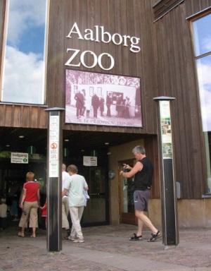 Вход в зоопарк Ольборга