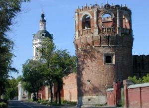 Донской монастырь в Москве
