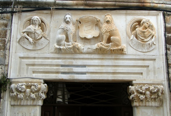 Фрески дворца Чипико