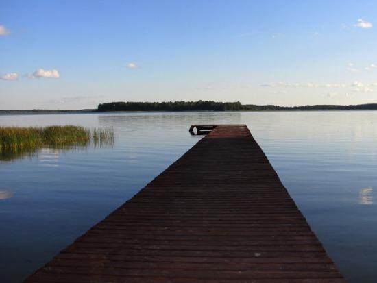 Браславские озера, пирс