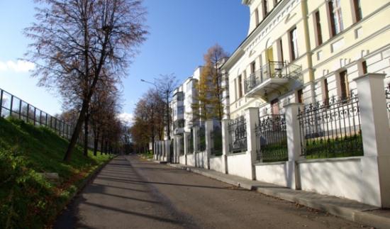 Вблизи дома Болконского в Ярославле