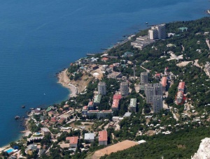 Курортный поселок Форос в Крыму