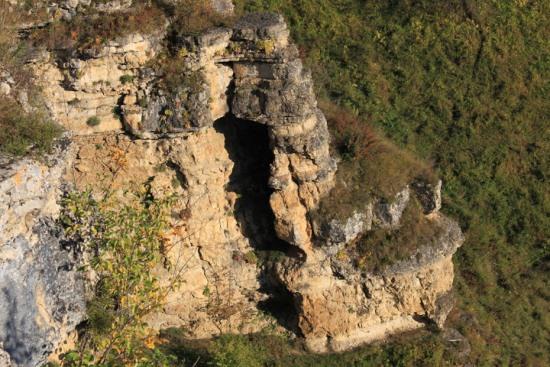 Лермонтовская скала возле Кисловодска