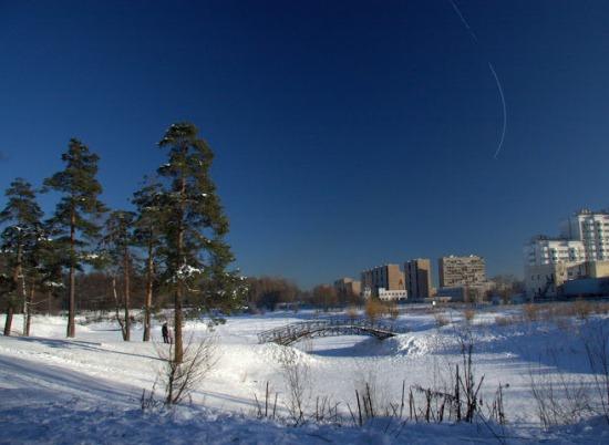 Лосиный остров в Москве
