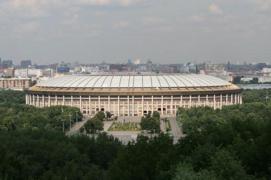 Олимпийский комплекс «Лужники» в Москве