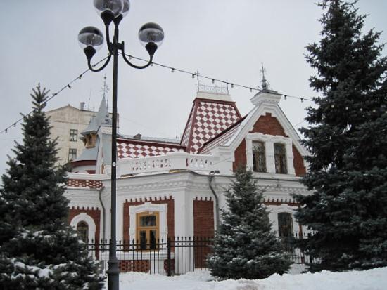 Особняк Клодта зимой