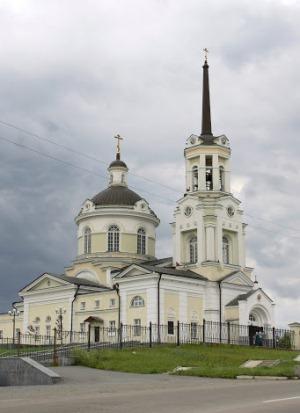 Храм в городе Верхняя Пышма