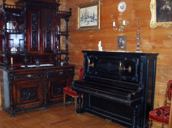 Внутри дома Мейерхольда