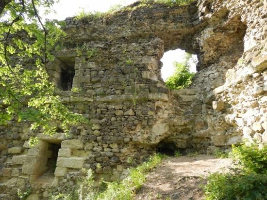Стены Хустского замка