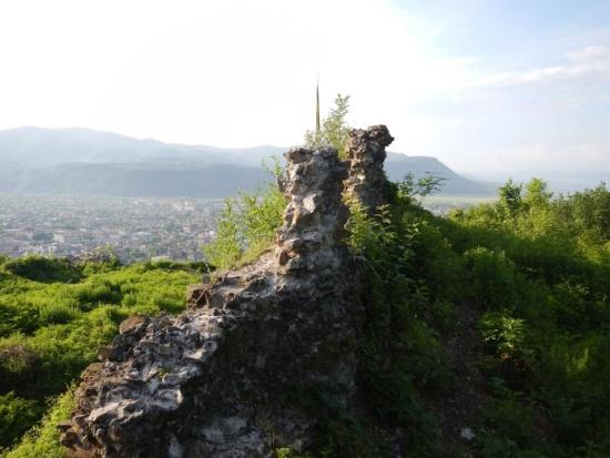 Хустский замок в Закарпатье