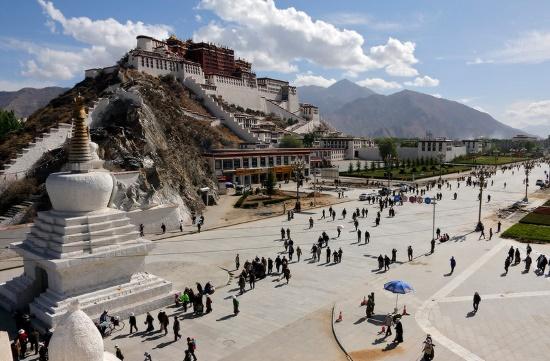 Лхаса - столица Тибета