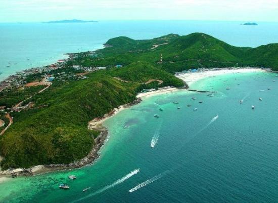 Остров Ко-Саак возле Паттайи