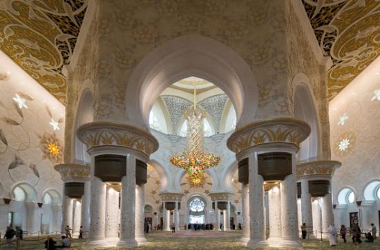 Мечеть в Абу-Даби