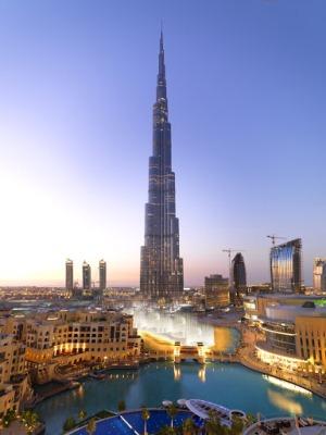 Бурдж Халифа в Дубай