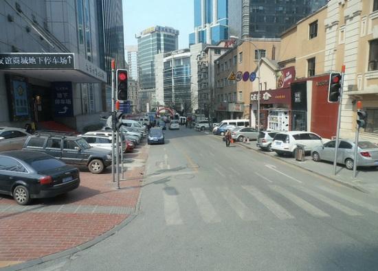 Далянь, городские улицы