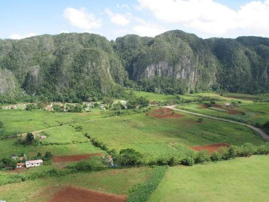 Долина Виньялес на Кубе