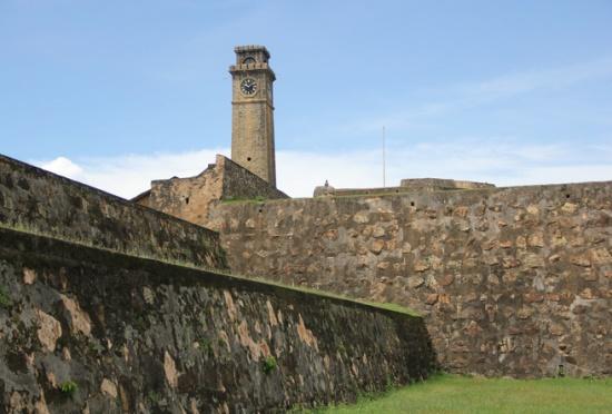 Галле, португальский форт