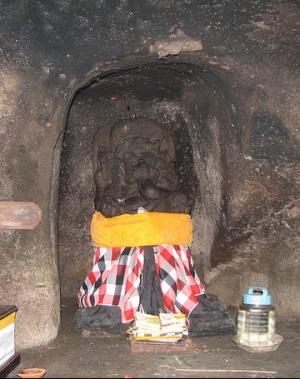 Скульптура Ганеши - бога-слона, в Гоа Гаджи