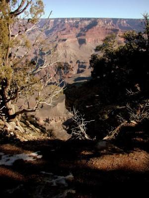 Пейзажи Гранд-Каньона в США