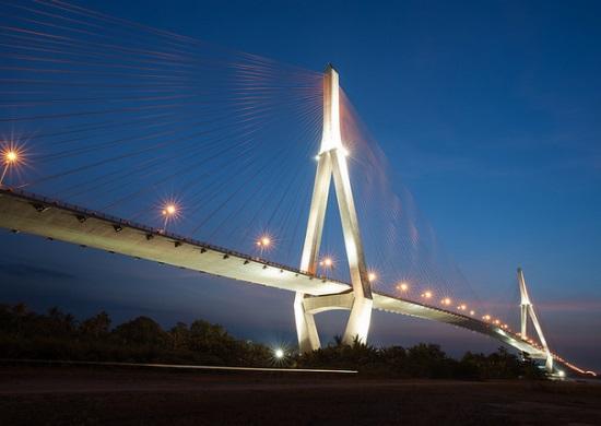 Мост в Кантхо