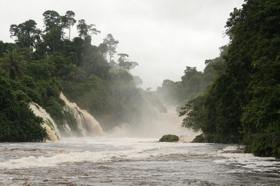 Водопады Конгу