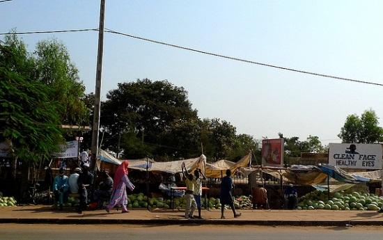Рынок в Серекунде