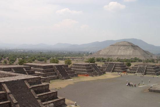 Теотиуакан, древний город в Мексике