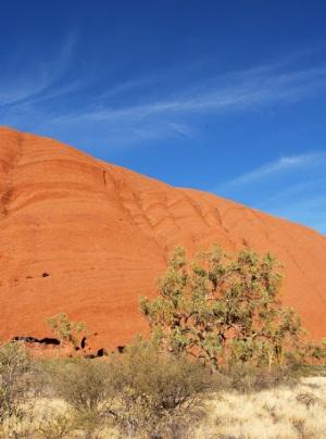 Улуру в Австралии