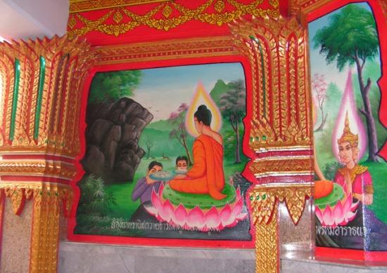 Внутри храма Ват Чалонг