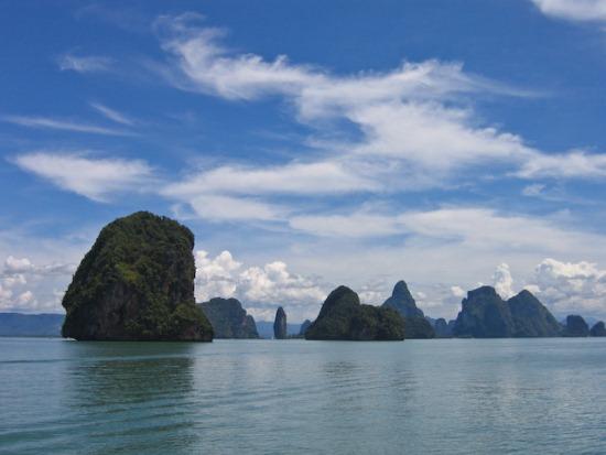Залив Пхангнга в Таиланде