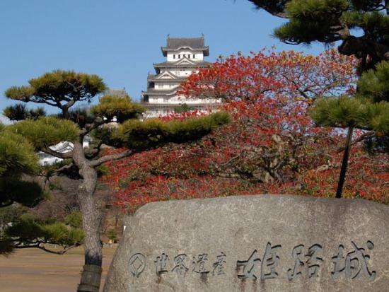 Вид на замок Химэдзи