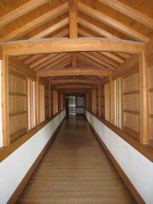 Внутри замка Химэдзи
