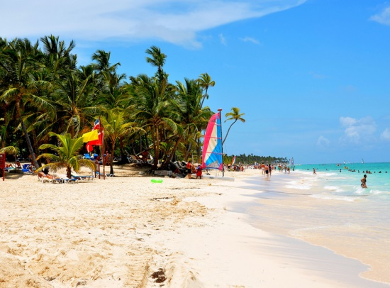 Доминиканская Республика, белоснежные пляжи