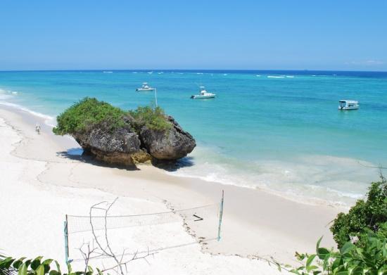 Белые пляжи Кении